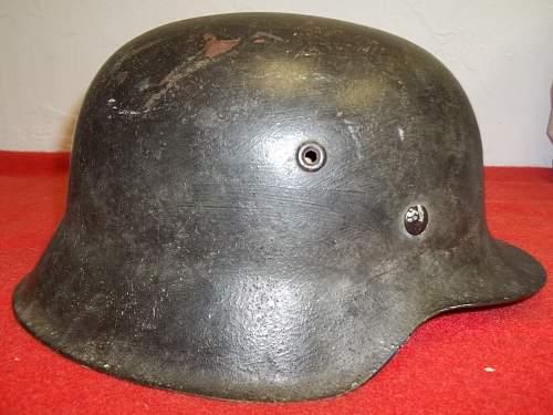 Luftwaffe M42 camo helmet?