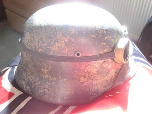 My M35 Camo shell and how to preserve the liner in my M35 Camo shell