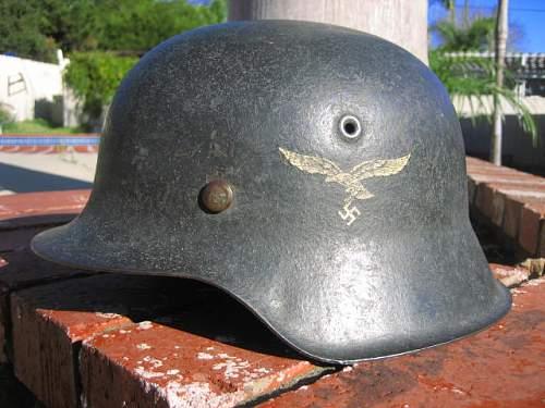 Named M42 Luftwaffe with Bring Back Tag