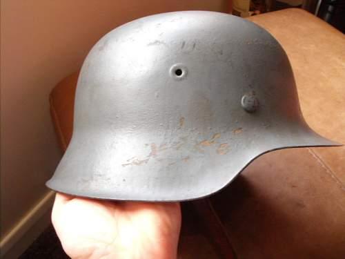 M42 helmet genuine?