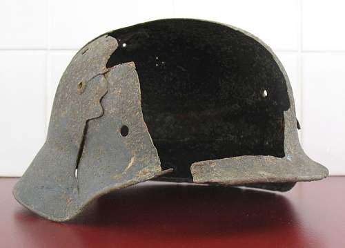 Battle Damaged M35 Heer