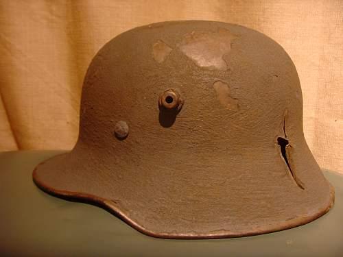 M18 Helmet Restoration Project....