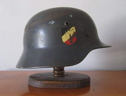 My first helmet LW DD M35 with 31 liner