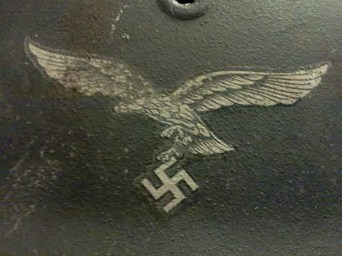 M40 Luftwaffe Single Decal Helmet