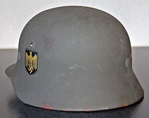 Kriegsmarine M40 Q62 from Norway