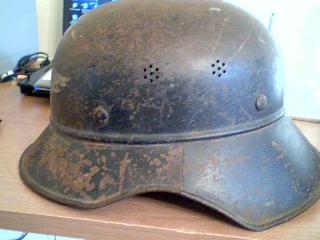Three Peice Luftschutz Gladiator Helmet
