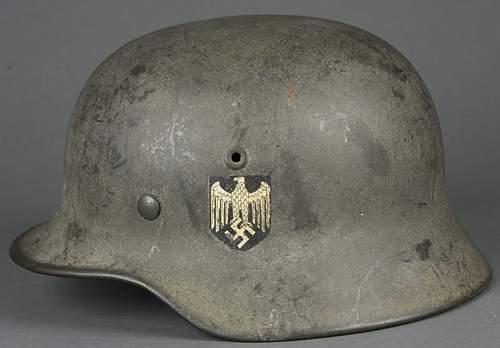 M40 Heer helmet