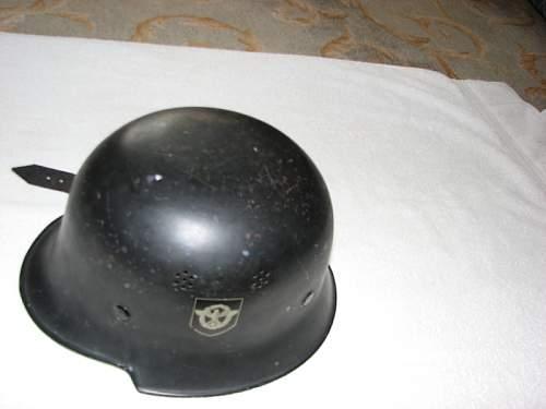 Civil Police Helmet. Opinions needed!