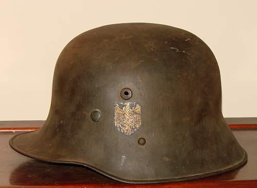Opinion on DD heer transitional helmet