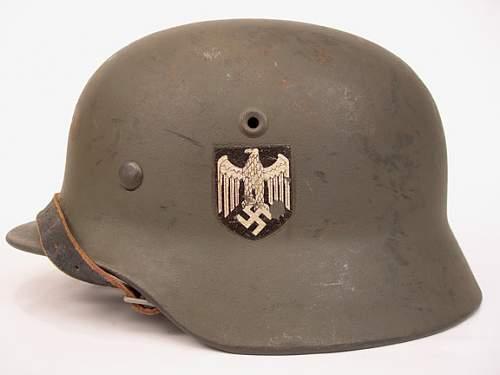 M40 SD Heer helmet - fake or original?