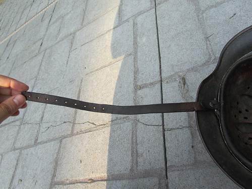 Damage to strap