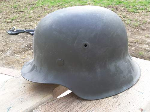 M42 steel helmet, what do you think about?
