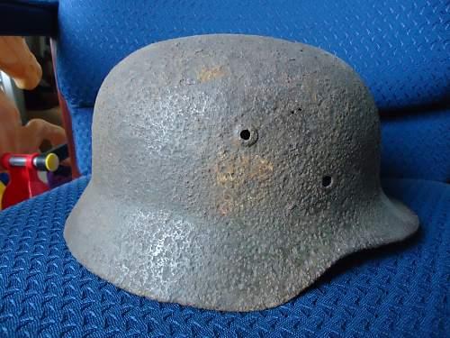 German helmet found at estate sale