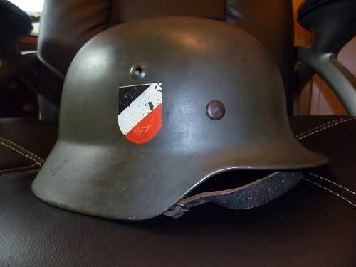 KM helmet?