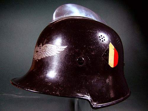 help with Helmet ID... German fireman's helmet?