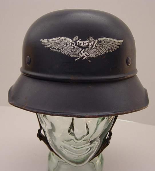 Post Your Luftschutz lids!