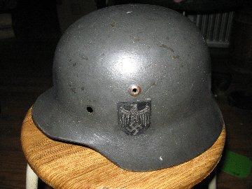 hitler youth or teen soldier helmet???