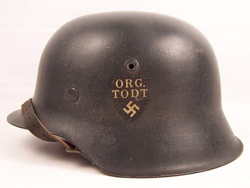 Click image for larger version.  Name:Todt Helmet 2.jpg Views:2005 Size:210.4 KB ID:355932