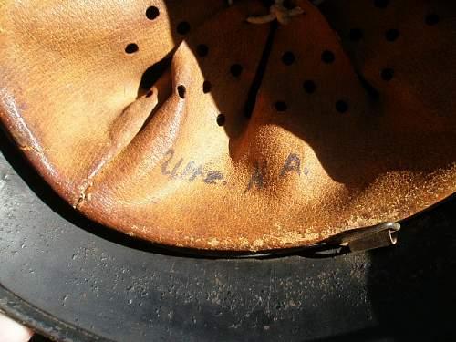 Unusual M40 Helmet/ Opinions-Info Needed