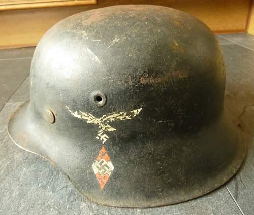 Luftwaffe HJ helmet opinions please?
