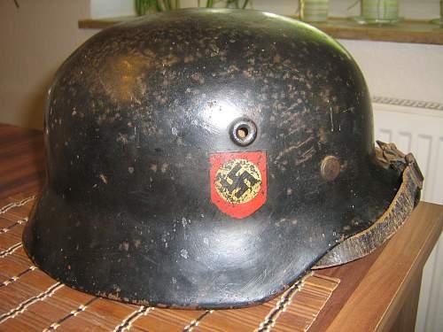 Q66 M35 police helmet