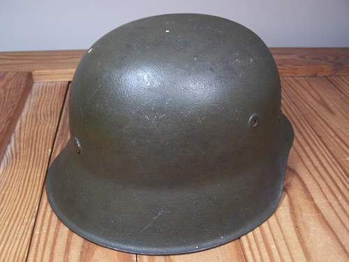 Luftwaffe Camo M42 Green FD Helmet