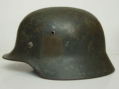 Click image for larger version.  Name:M35 helmet. Left side..jpg Views:7725 Size:158.1 KB ID:36401