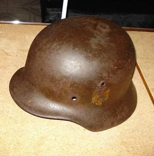 My M35 helmet
