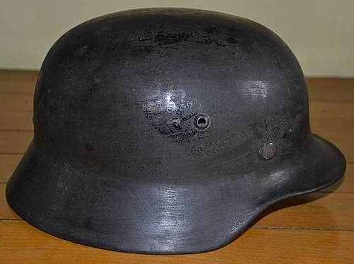 M35 or M40 Stahlhelm?