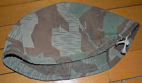 Fake Wehrmacht helmet cover?