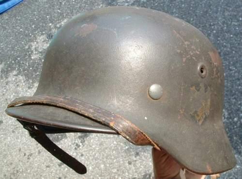 M40 KM helmet