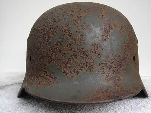 M35 Heer DD KIA helmet ( again )