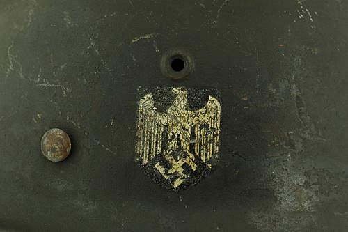 Model 1940 Wehrmacht helmet
