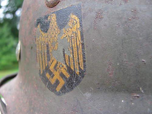 M35 Double Decal Kriegsmarine  ET64 Lot # 4084