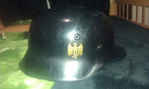 help id this possible fake heer helmet..