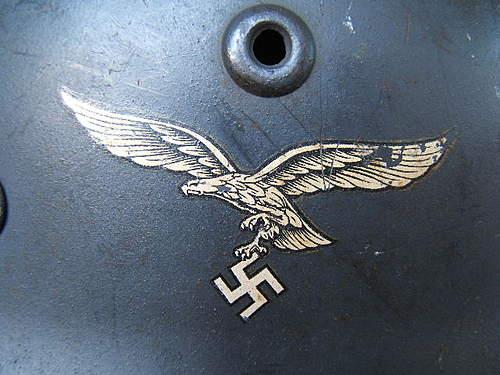 Luftwaffe M40 Single Decal.