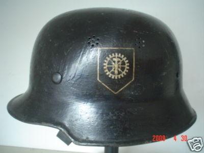 this a reissued firemans helmet??
