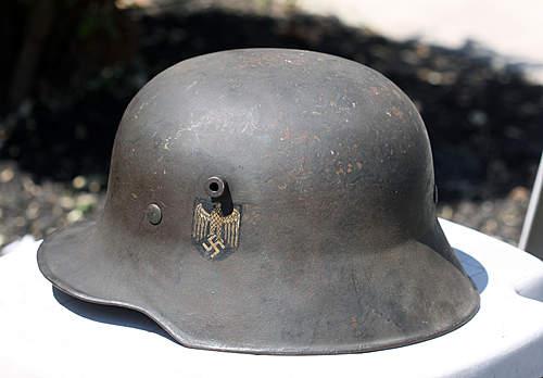 Woodwork Transitional Helmet
