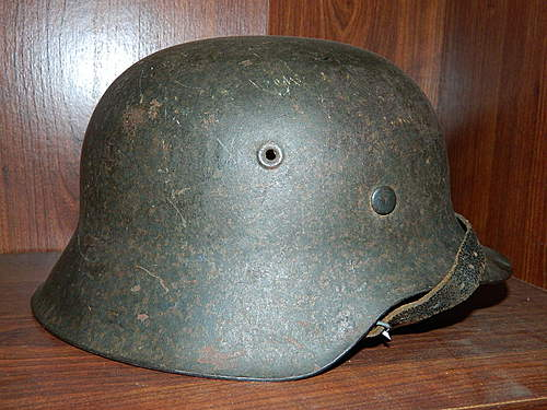 Evil helmet