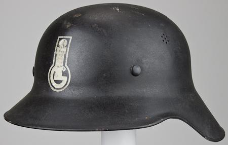 Very interesting Luftschutz helmet