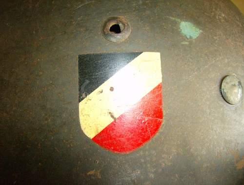 Luftwaffe helmet M35 DD