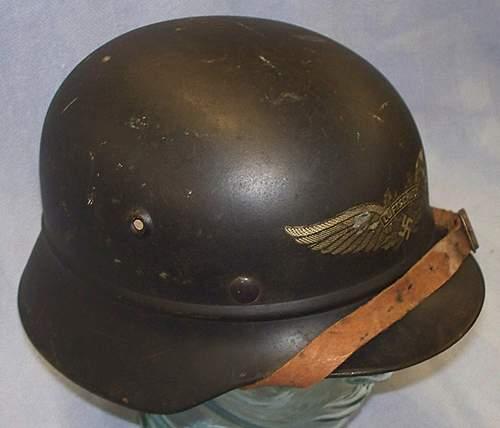 Luftschutz beaded M40