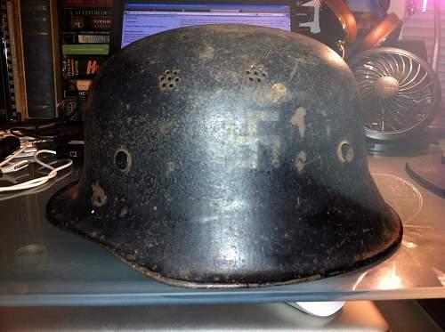 German Steel Helmet - M34?