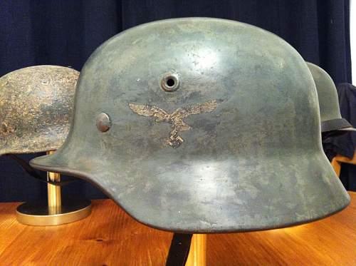M40 Luftwaffe helmet