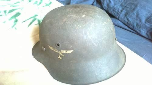 My Vet Bring Back helmet!