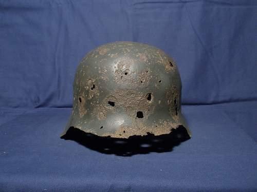 M42 helmet with sauerland decal