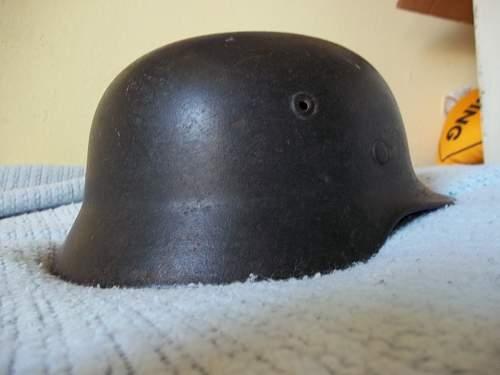 Real m40 Single Decal helmet?
