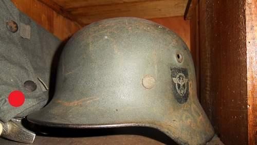 Polizei helmet