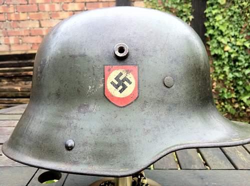 M17 dd police helmet