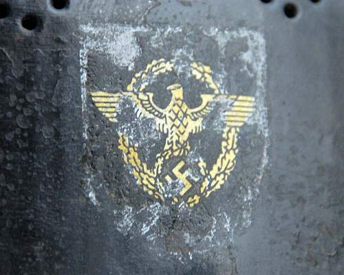 m34 police decal